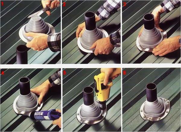 Как сделать отверстие для дымохода