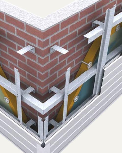 Как сделать подконструкцию вентилируемого фасада