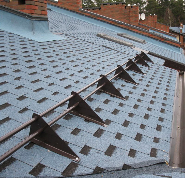 снегозадержатели на крышу как правильно устанавливать