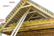 этапы возведения крыши