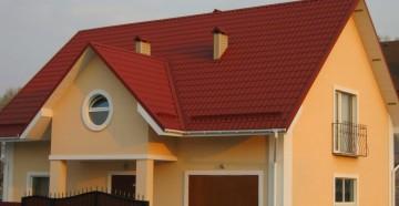 Как сделать крышу из профнастила
