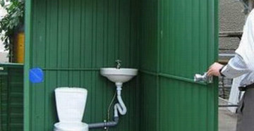 Как сделать туалет из профнастила - советы опытных специалистов