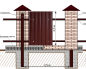 как построить забор из профнастила с кирпичными столбами