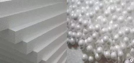 Пенопласт как утеплитель стен - свойства и характеристики