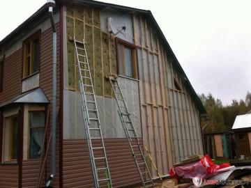 Как сделать утепление стен снаружи под сайдинг - советы опытного мастера