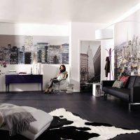 идея красивого декорирования стен в помещениях фото