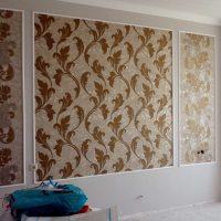 идея необычного украшения стен в помещениях фото