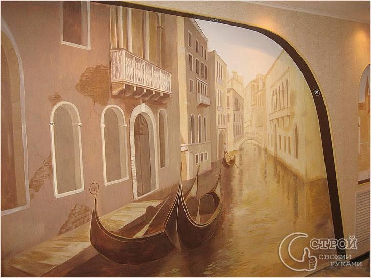 Роспись стен — Венеция