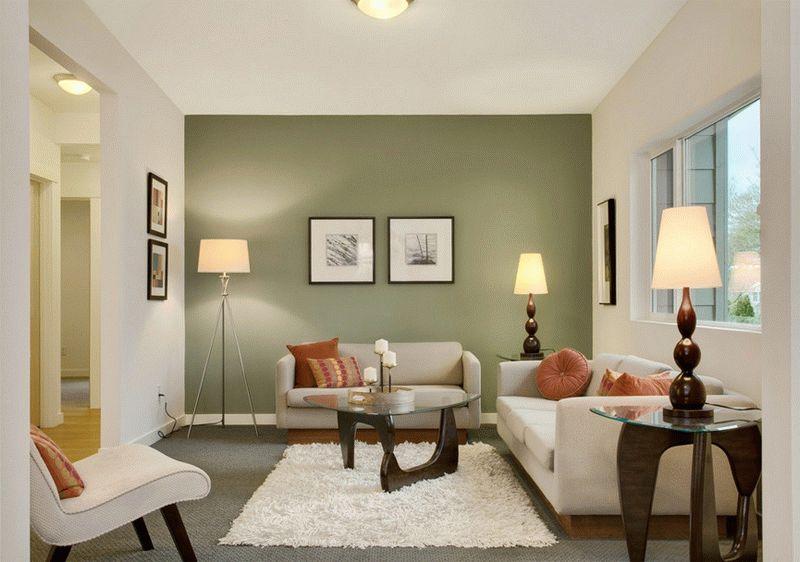 Окраска - наиболее простой и недорогой способ отделки стен в доме