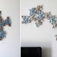 идея оригинального декорирования стен картинка