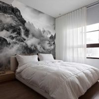 вариант яркого оформления стен в помещениях картинка