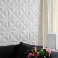 вариант необычного украшения стен в помещениях картинка