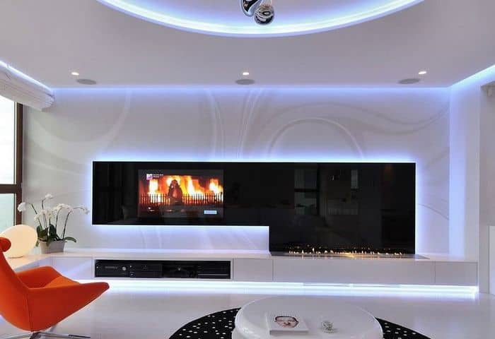 Чтобы гостиная комната стала уютной и комфортной, необходимо тщательно продумать ее дизайн