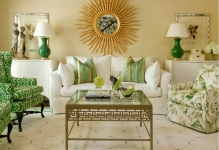 green-color-in-interior-