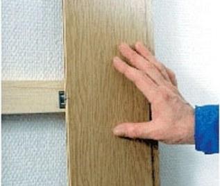 Установка ламината на стеновую поверхность