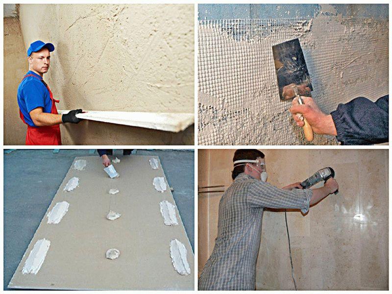 Способы выравнивая стен