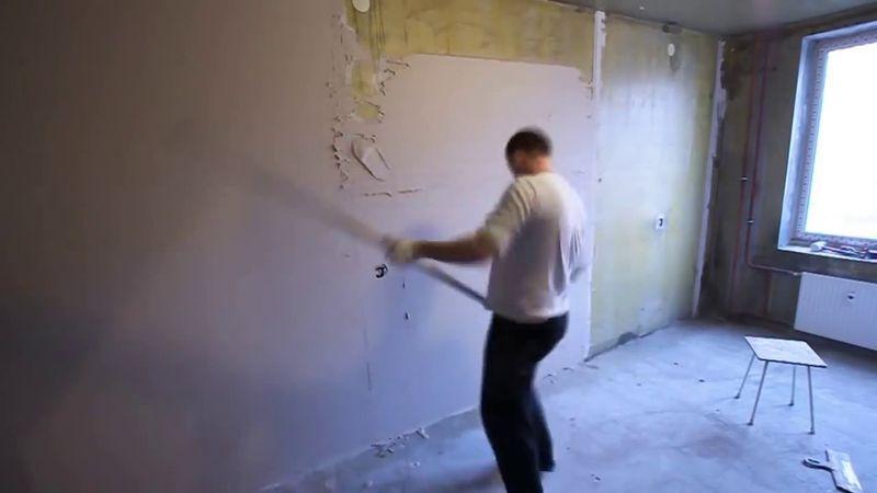 Чем выровнять стены под покраску своими руками фото 814