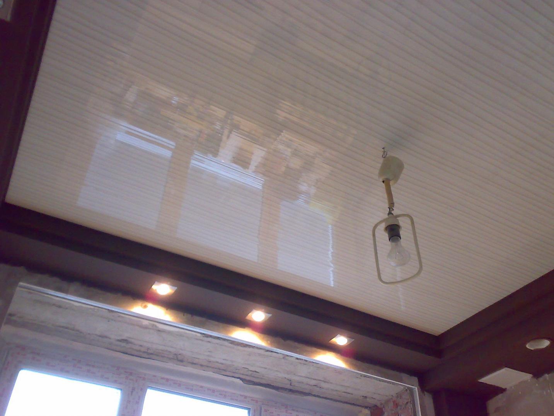 Пвх потолок своими руками фото 877