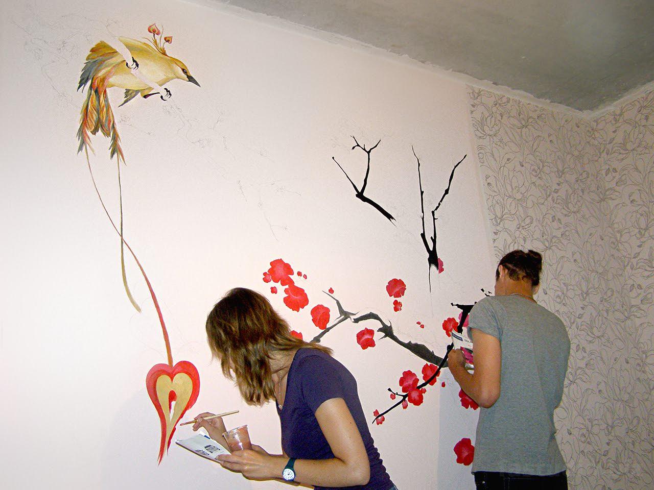Трафарет для стен своими руками пошаговая инструкция