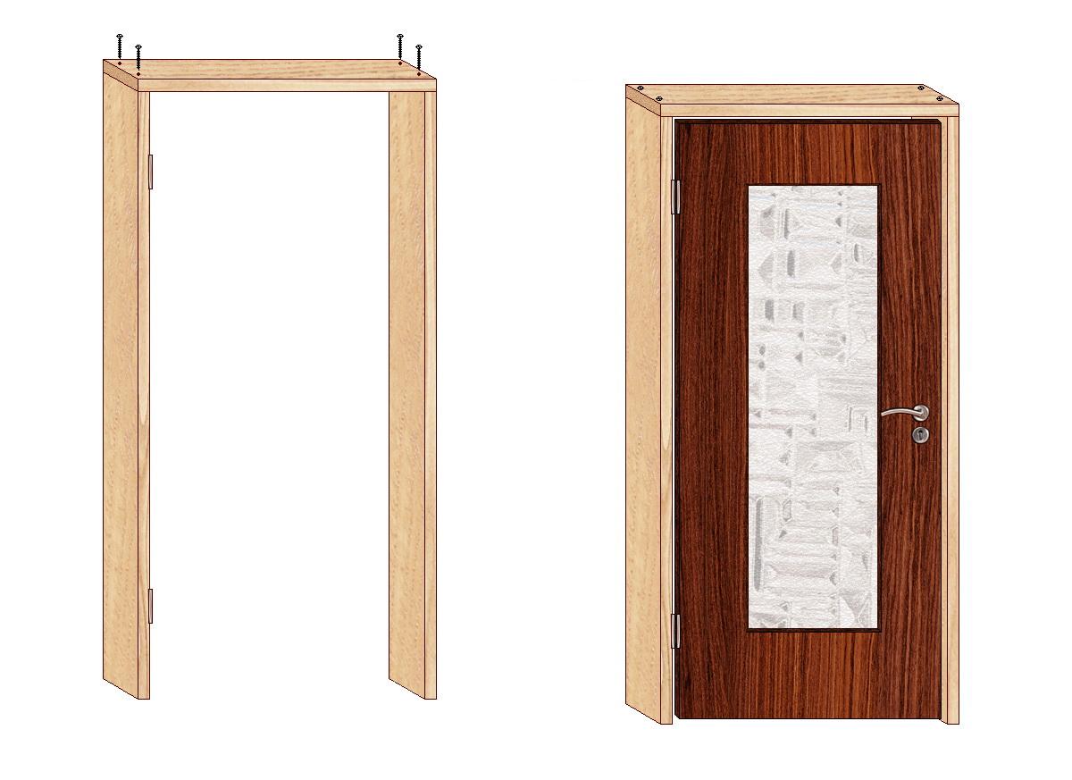 Как поставить межкомнатную дверь своими руками фото 219