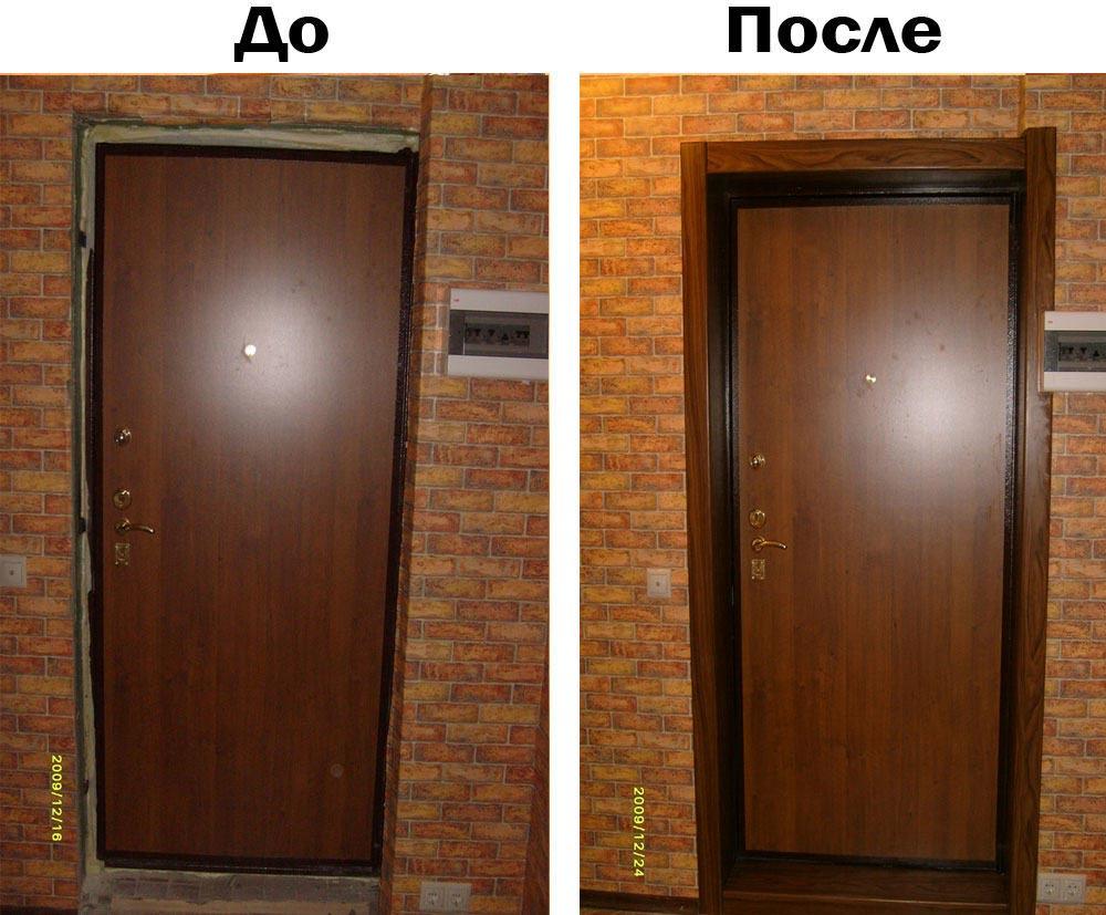 Изготавливаем металлическую дверь своими руками фото 42