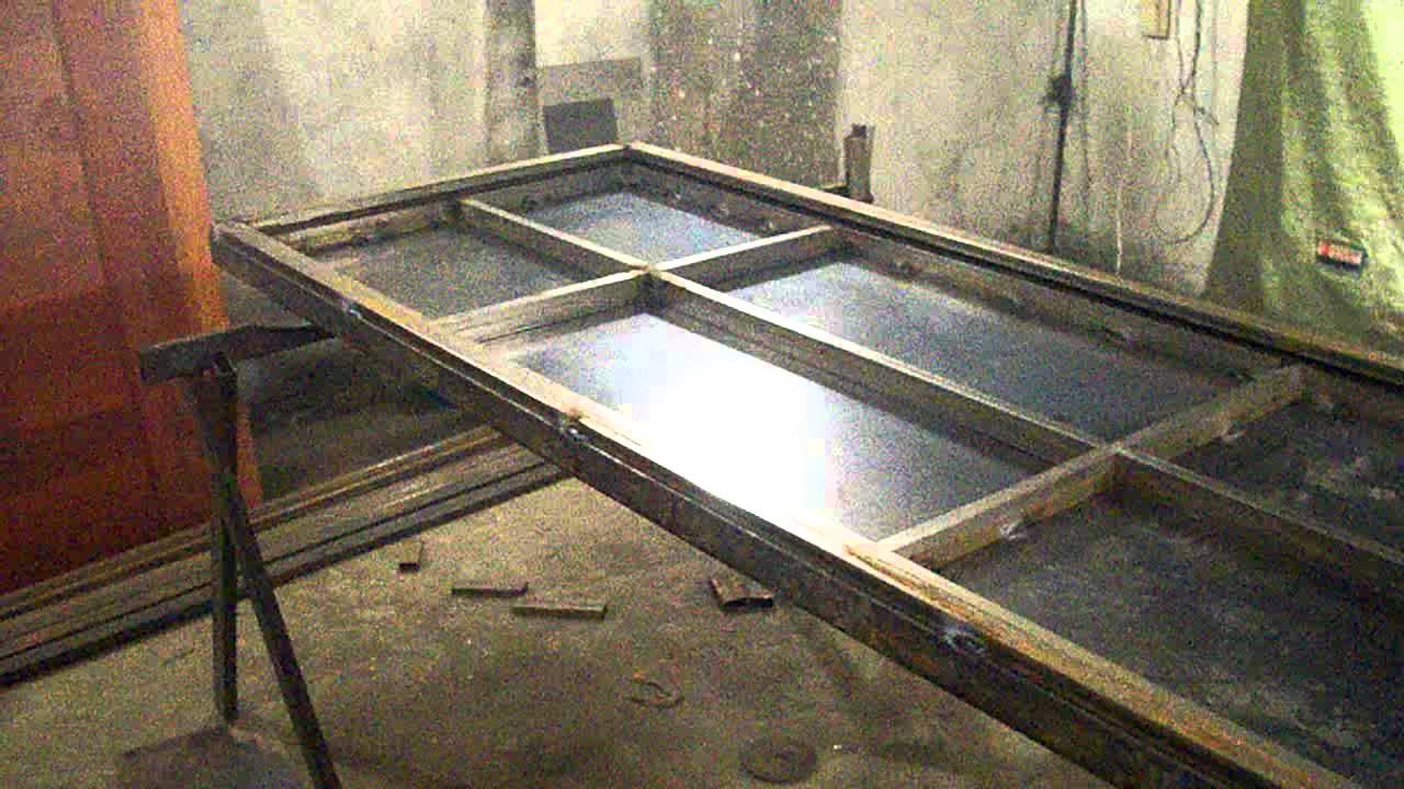 Изготавливаем металлическую дверь своими руками фото 583