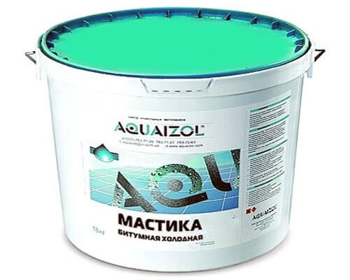 Битумная мастика Aquaizol
