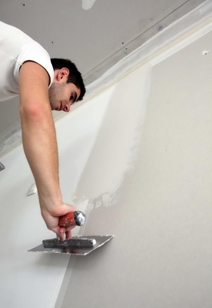 Отделка стен шпатлевкой своими руками