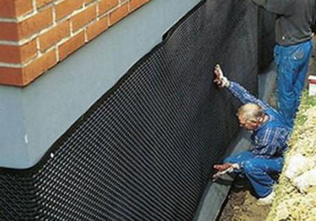 гидроизоляция снаружи дома